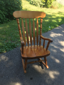Rocking Chair - Solid Wood, Comfy