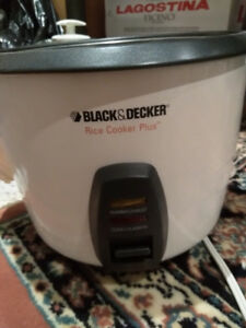 Black and Decker 10 cup rice cooker
