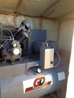 7.5 HP Air compressor and air dryer system.