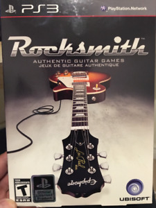 Rocksmith for PS3 with Real Tone Cable