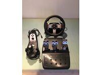 Logitech G27 Wheel Pedals & Shifter