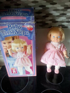 Vintage Baby First Steps Doll