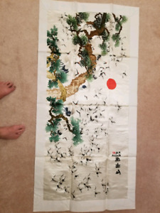 Chinese embroidary painting