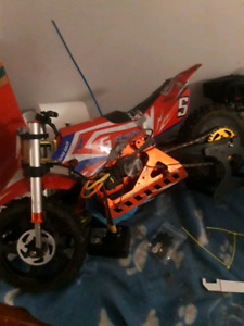 Rc dirtbike brushless cash or trade