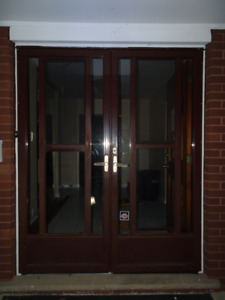 Door - Double Storm Door Set, Various Dimensions & Models