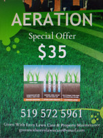 Cheapest Aeration Prices in Town.
