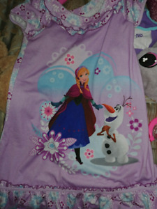 Frozen pj s and gown