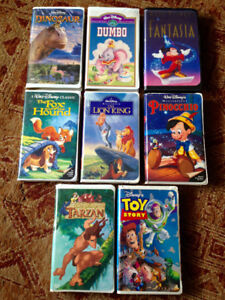 Disney (and more) VHS
