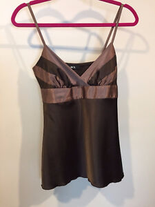 Bcx Size Small, Satin, Chocolate Top - Rossland