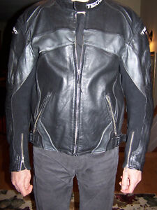 Riding lether jacket