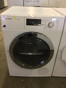 "24"" Bosch Ascenta White Front Load Dryer"