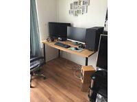 Ikea desk large FREE