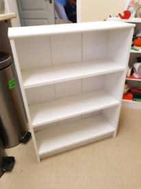 Small White shelf unit, delivery available