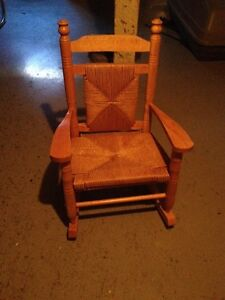 Kid s rocking chair New England style