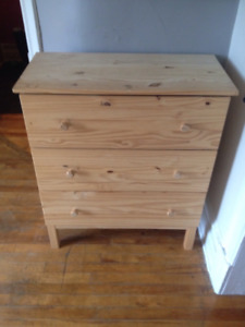 Commode 3 tiroirs Tarva 3 drawers dresser