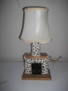 Fireplace Accent Lamp