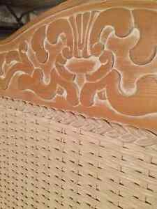 PIER 1 HEADBOARD FOR TWIN BED - JAMAICA RATTAN West Island Greater Montréal image 2