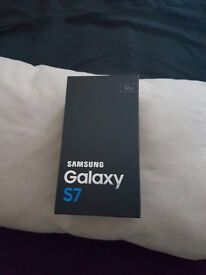 Samsung Galaxy s7 Black Brand new in box