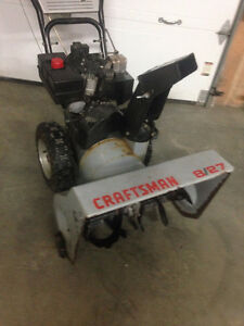 8hp craftsman snowblower