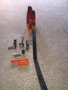 Hot Wheels track with accessories