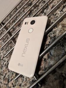 Used Nexus 5X, unlocked, white, 32GB in good working condition