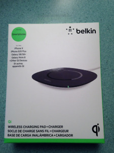 Wireless Charging  Pad + Charger For iPhones and Samsung Brands