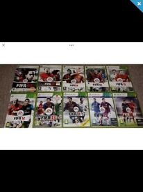 Xbox 360 10 disc Fifa bundle