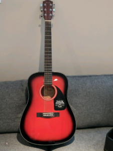 Guitar acoustic fender