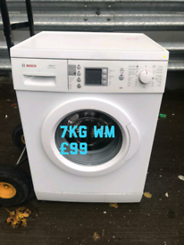 Bosch 7kg washing machine free delivery in Leicester 02