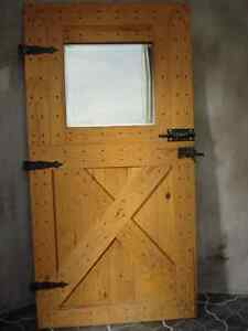 Heavy Barn Door