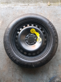 Space saver spare wheel for Volve S40 / V50, 108 spacing.