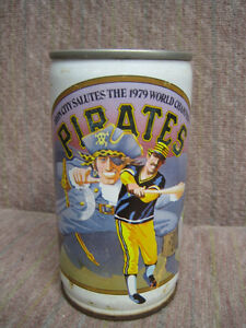 Pittsburgh Pirates Beer Can