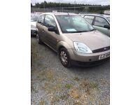 2004 Ford Fiesta 1.4 diesel. £30 road tax