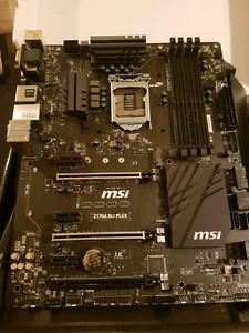 MSI Z170A SLI Plus LGA 1151 Intel Z170 HDMI SATA 6Gb/s USB 3.1 A