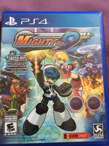 PS4 Mighty no.9 - Megaman - jeux PlayStation 4