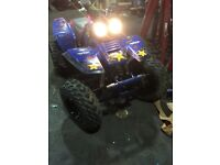 yamaha warrior 350 quad bike