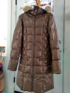 bloom Coat, made in Italy, real fur - removable