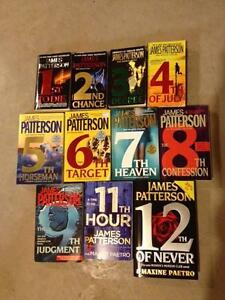 James Patterson books for sale