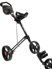 Masters 5 Series 3 Wheel Golf Trolley - Brand New