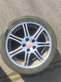 Honda civic type r alloys ×4