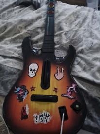 Guitar hero guitar xbox 360