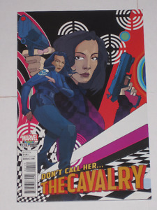 Marvel Comics The Cavalry: SHIELD 50th Anniversary#1 comic book