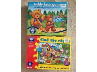 3-6 y puzzle and board game