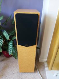 Quad 21L speakers