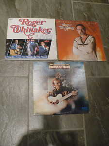 ROGER WHITTAKER VINYLE ( $ 8.00 CH. )( 3 POUR $ 20.00 )
