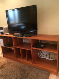 Teak Bookcase/TV/Entertainment  stand