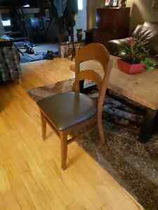 NORAM INTERIORS WOODEN chairs for sale Windsor Region Ontario image 1