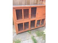 Rabbit hutch and winter cover (essential)