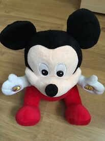 Mickey Mouse talking plush