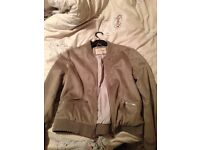 River Island Grey Suede Jacket